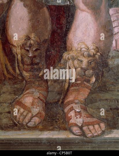 Rome Farnesina Fresco - Stock Image
