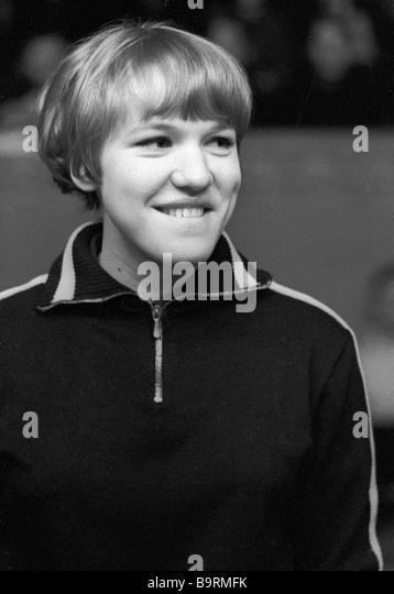 USSR table tennis champion Zoiya Rudneva - Stock Image