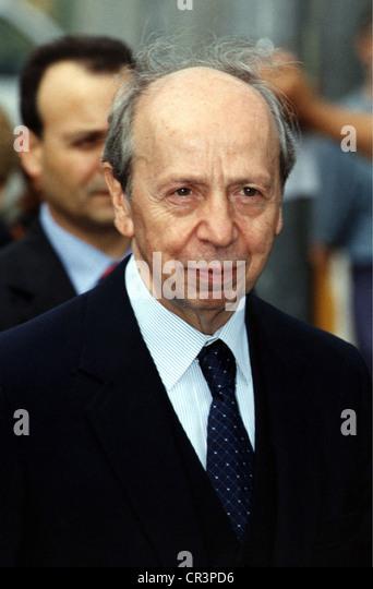 Dini, Lamberto, * 1.3.1931, Italian politician, portrait, as minister of foreign affairs, 1999, - Stock Image