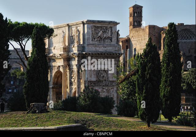 roma arco costantino - Stock Image