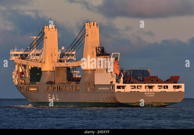 Heavy-Lift-Vessel Svenja - Stock Image