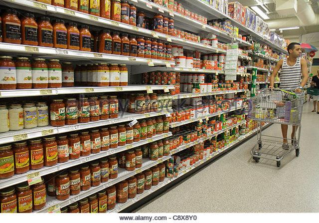 Grocery Shopping South Beach Miami