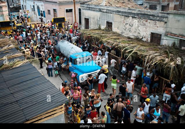 Santiago carnival. Santiago de Cuba. Cuba. - Stock Image