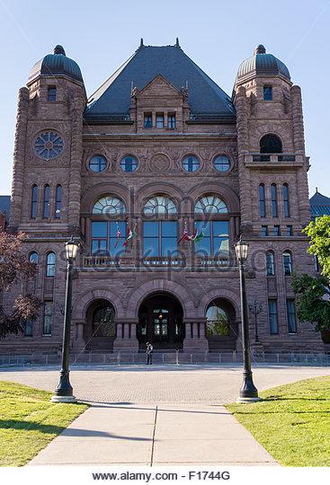 Ontario legislative building stock photos ontario for Building a house in ontario