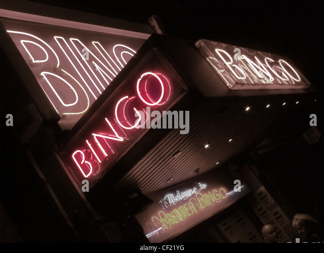 This is a bingo hall in Edinburgh, in Nicholson Street, up from North Bridge, City Centre, Scotland - Stock Image