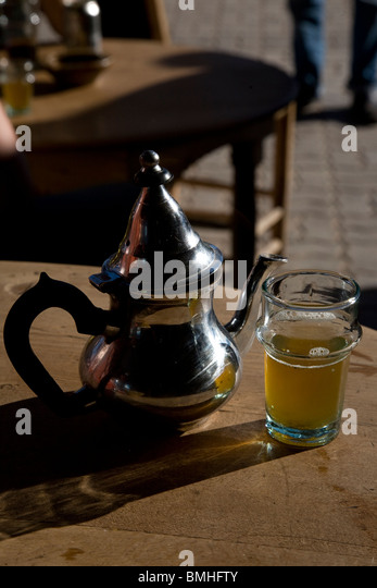 Morocco Tea Cafe Stock Photos & Morocco Tea Cafe Stock Images - Alamy