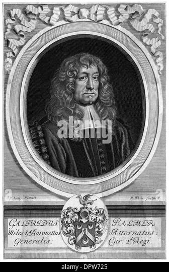 SIR GEOFFREY PALMER - Stock Image