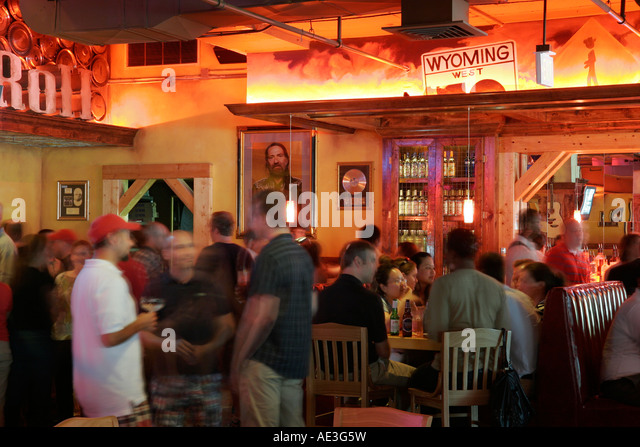 Ohio, Cincinnati, Cadillac Ranch All American Bar and Grill, Western theme, saloon, - Stock Image