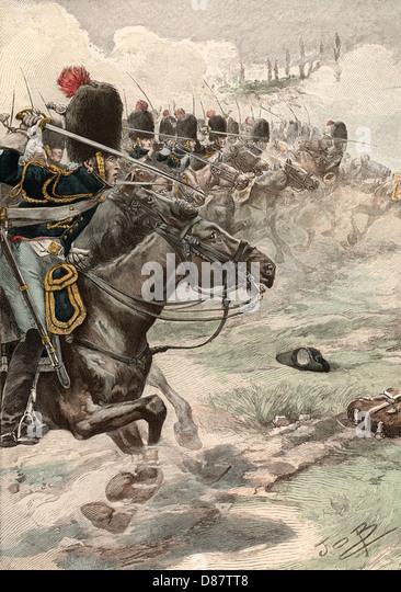 Battle Of Marengo - Stock Image