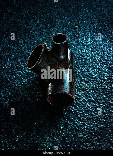 rusted pipe - Stock-Bilder