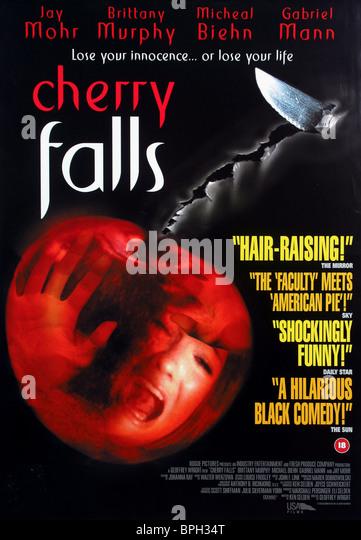 FILM POSTER CHERRY FALLS (2000) - Stock-Bilder