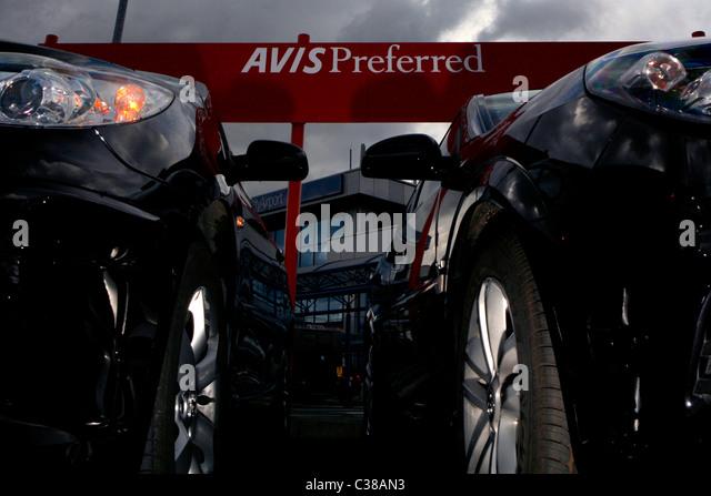 Avis Rental Car Return Munich Airport