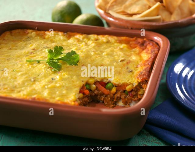 tamale pie - Stock Image
