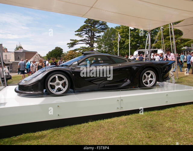 Trade Stands Goodwood Festival Speed : Mclaren stock photos images alamy