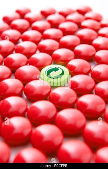 Drug recycling - Stock Image