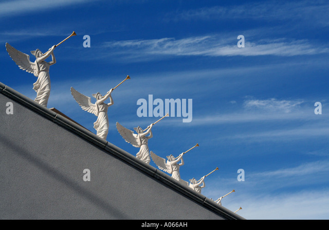 Statues near Ceasar's Palace, The Strip, Las Vegas, Nevada - Stock Image