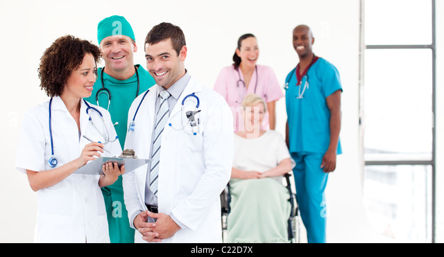 International medical team - Stock-Bilder