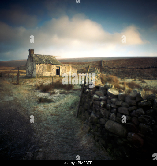 Barn in North Yorkshire Dales England - Stock Image