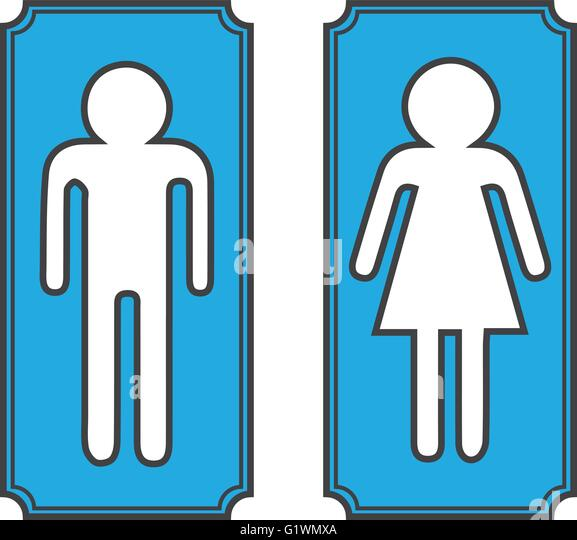 Restroom Door Signs Stock Photos Amp Restroom Door Signs