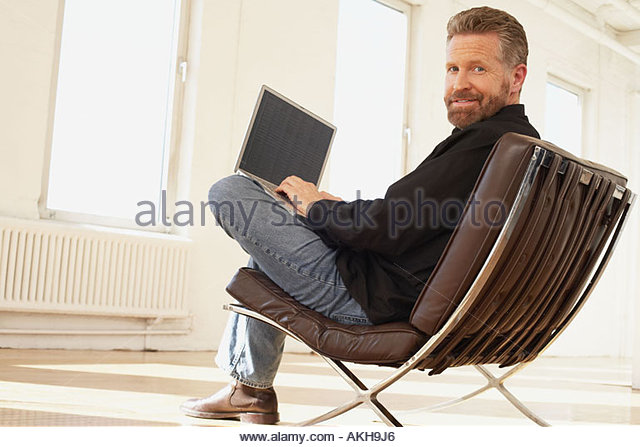 Portrait of an entrepreneur - Stock-Bilder