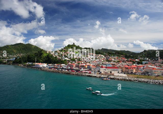 St George's, Grenada, Caribbean - Stock Image