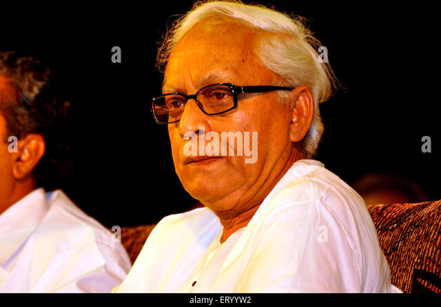Chief minister of west bengal buddhadev bhatterjee ; India - Stock Image