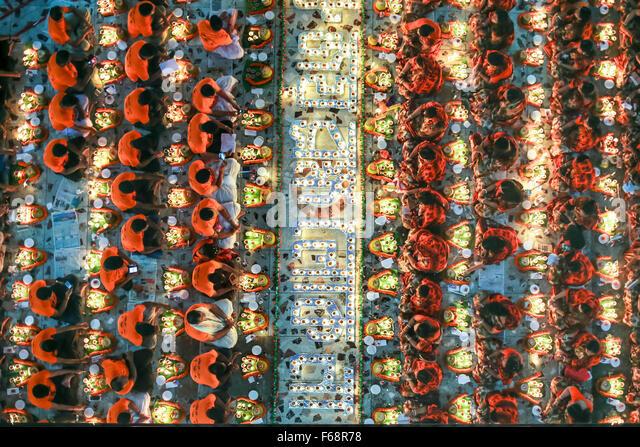 Dhaka, Bangladesh. 14th Nov, 2015. Nov. 14, 2015 - Dhaka, Bangladesh - Today is the 4th day of Hindu religious occasion - Stock Image