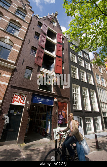 Amsterdam Jourdan Hostel - Stock Image