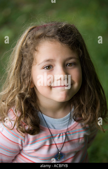 Confident Girl 5 Years Old Stock Photos Confident Girl 5