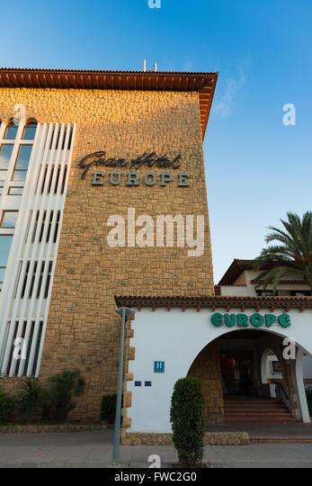 Hotel Europe San Salvador Costa Dorada
