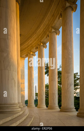 The Thomas Jefferson Memorial is a presidential memorial in Washington, D.C. - Stock-Bilder