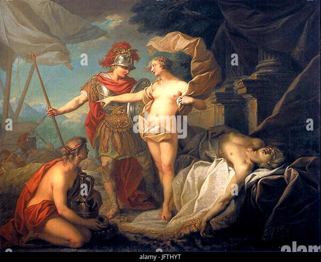 """""""the death of patroclus sends achilles Thetis then send achilles to skyros to the king likomidis and disguise  hector  but he understood and the battle that followed killed patroclus and took its armor."""