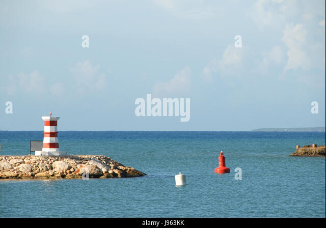 Luxury house resort & villas in Casa de Campo, La Romana, Dominican Republic - Stock Image