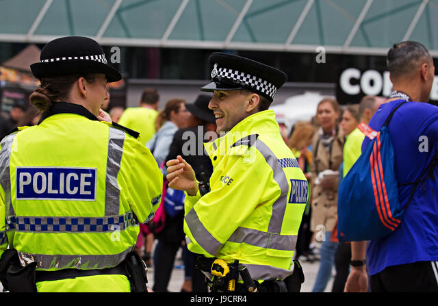 British police officers deal with a british slut 1