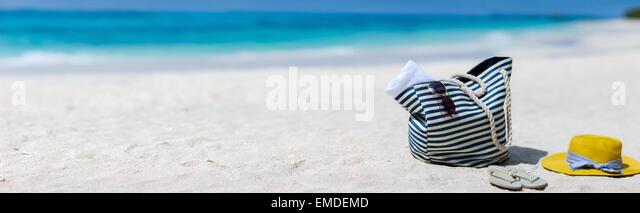 Beach vacation - Stock Image