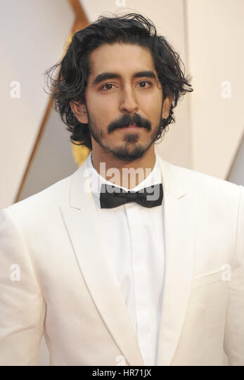 Hollywood, California. 26th Feb, 2017. Dev Patel attends the 89th Annual Academy Awards at Hollywood & Highland - Stock-Bilder