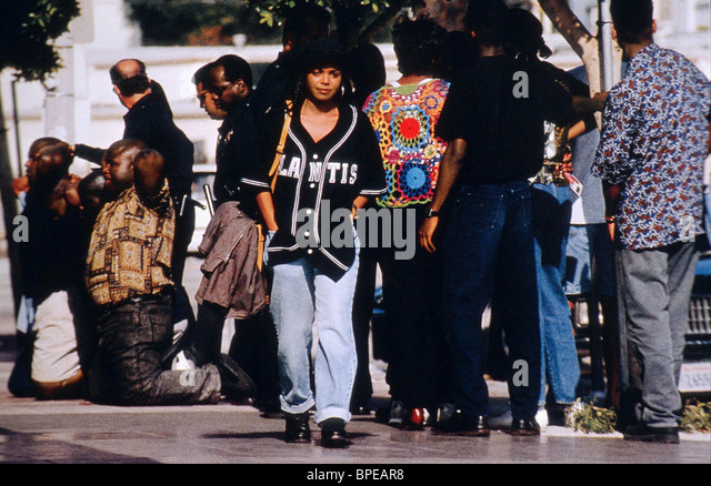 JANET JACKSON POETIC JUSTICE (1993) - Stock Image