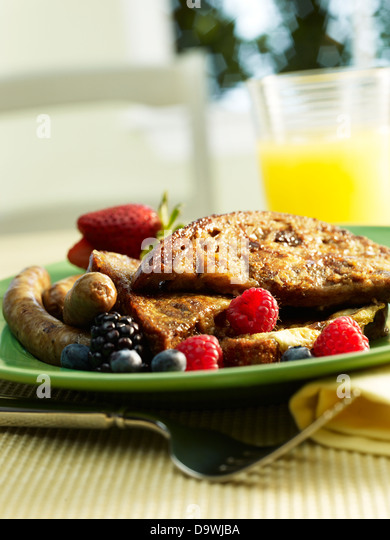 french toast breakfast - Stock-Bilder