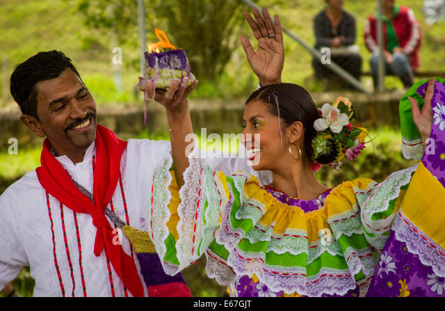 Cumbia Dance - Stock Image