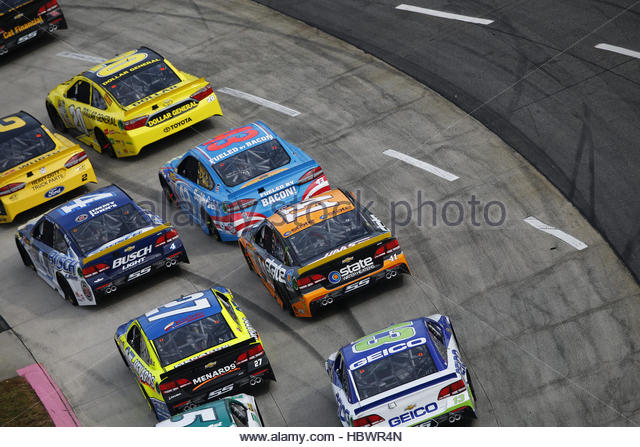 NASCAR: Oct 30 Goody's Fast Relief 500 - Stock Image