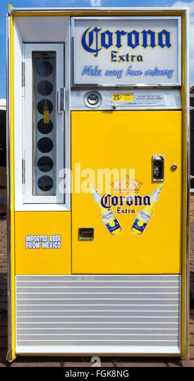 corona vending machine