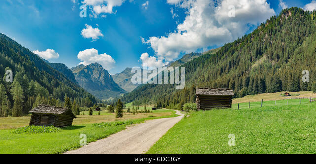 Grubenhuttl - Vergein,Austria,Kristeinbachtal - Stock Image