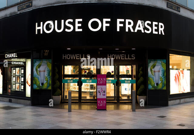 House of fraser store stock photos house of fraser store for Housse of fraser