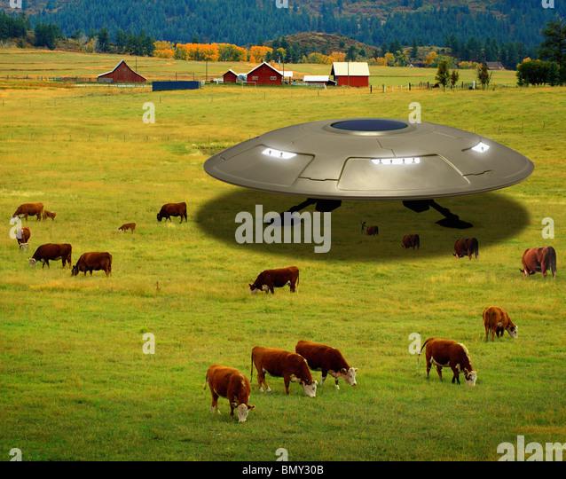 Landed Ufo Flying Saucer Alien Stock Photos Amp Landed Ufo