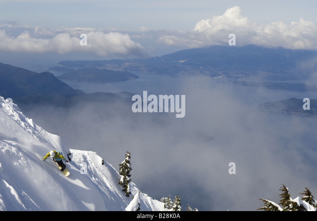 Whistler British Columbia Canada - Stock Image