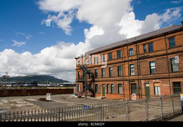 belfast shipyard stock photos belfast shipyard stock. Black Bedroom Furniture Sets. Home Design Ideas