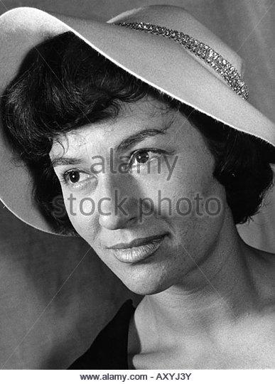 Lingen, Ursula, * 9.2.1928, German actress, portrait, 1960s, hat, - Stock-Bilder