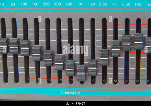The idle graphic equalizer old versions - Stock-Bilder