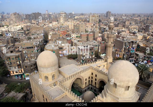 Sarghatmysh mosque (1356), Cairo, Egypt - Stock Image