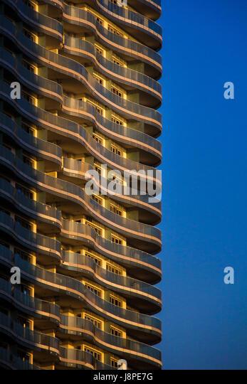 Skyscraper, Beirut - Stock Image